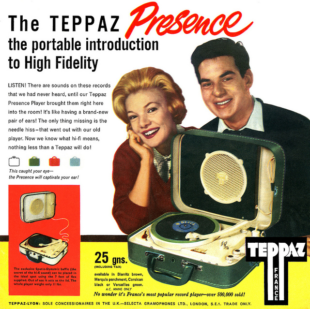 Teppaz A Blast From The Past The State Of Sound